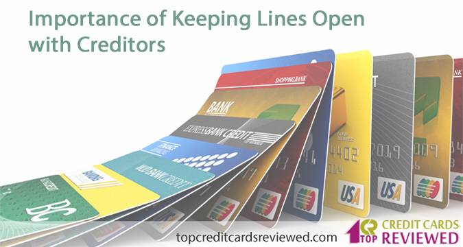 Importance of Keeping Lines Open with Creditors
