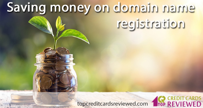 Saving money on domain name registration