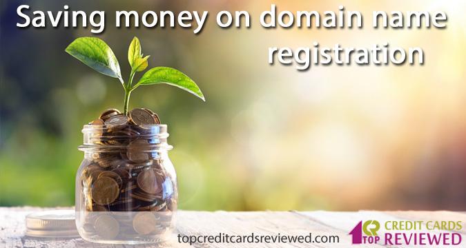 Saving money on domain name registration
