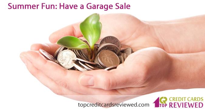 Summer Fun Have a Garage Sale