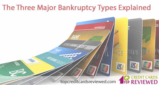 The Three Major Bankruptcy Types Explained