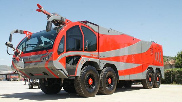 fire trucks volkan