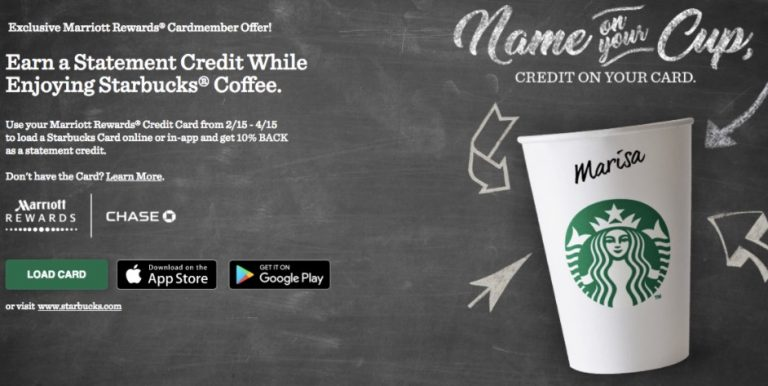 STARBUCKS CREDIT CARD