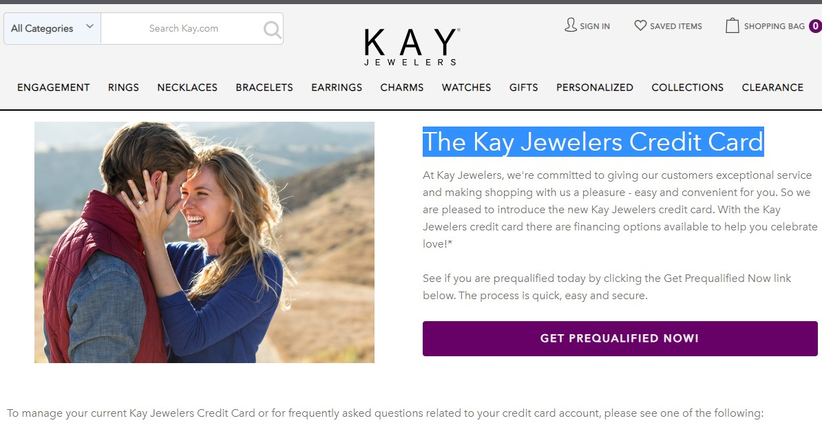 The Kay Jewelers Credit Card