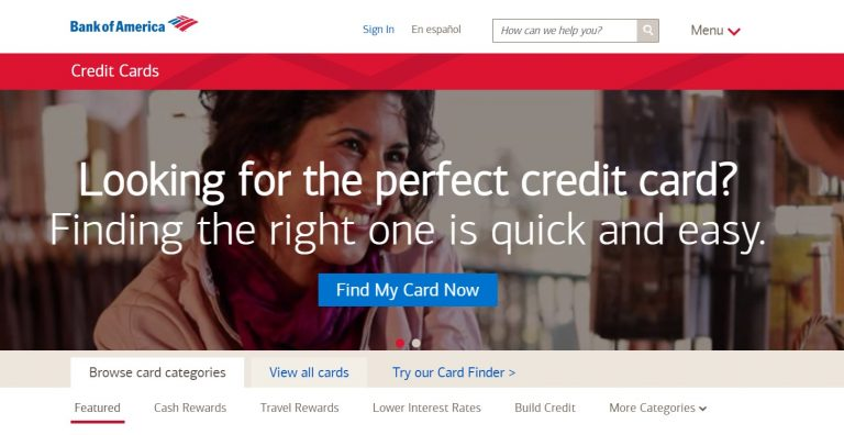 Bank of America® Cash Rewards1