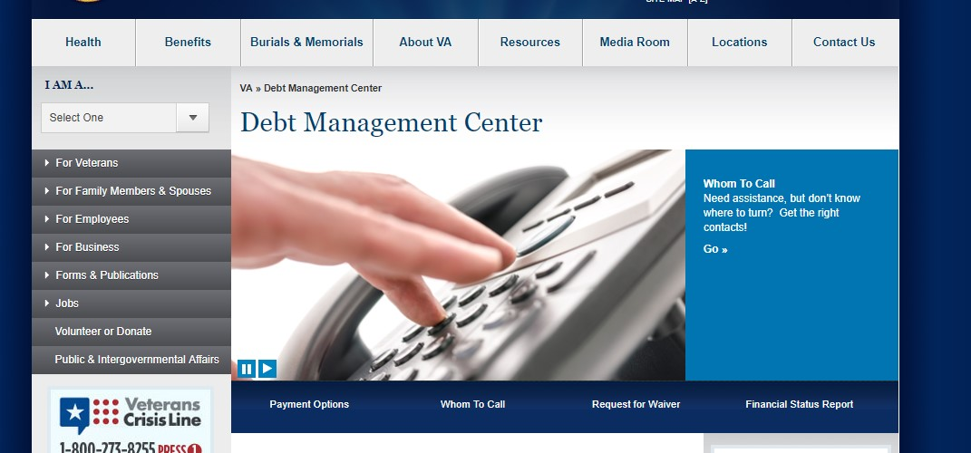 Veterans Affairs Debt Management Center2