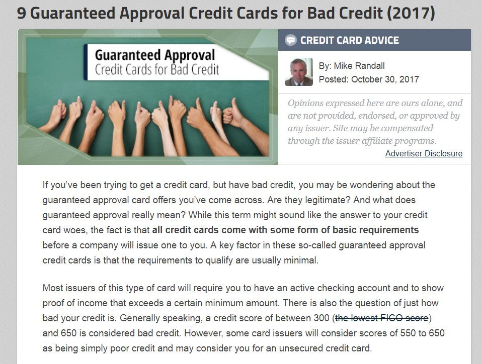 $10000 limits for bad credit