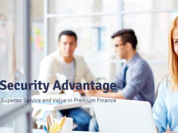 security premium finance