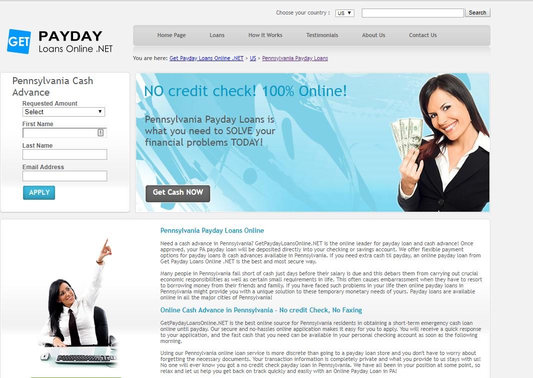 payday loans pennsylvania