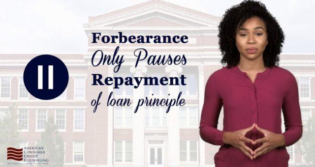 Student Loan Forbearance